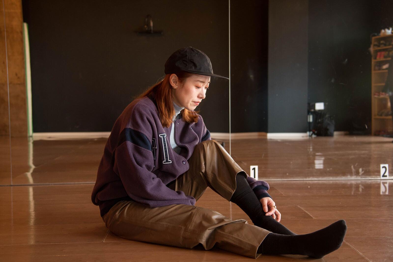 ローカルWEBメディア・地域サイト 地元サイト 草加ローカルストーリー 岡本朱里 ダンサー 坐禅 2枚目写真