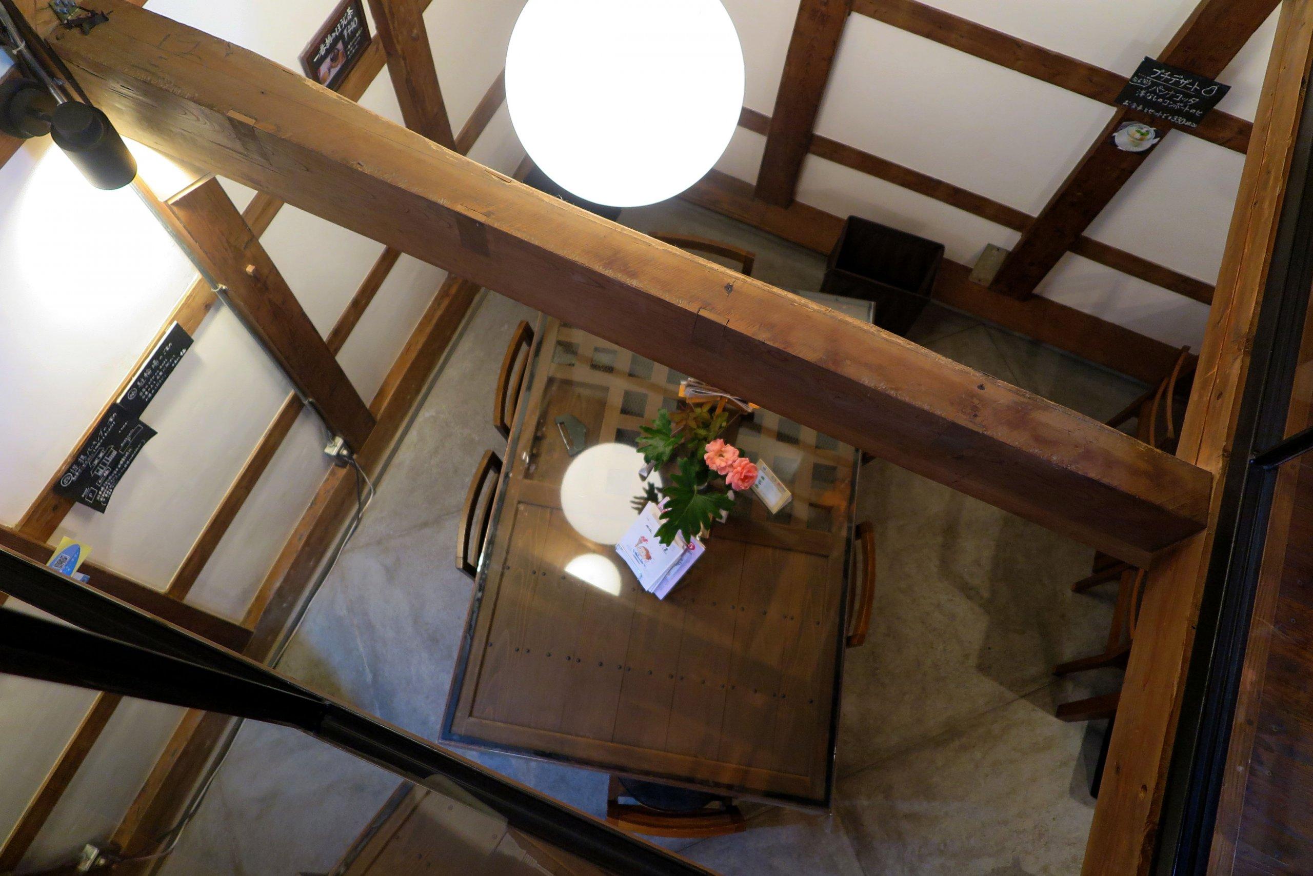 ローカルWEBメディア・地域サイト 草加ローカルストーリー 草加カフェ 草加レストラン  蔵カフェ 中屋 二階から